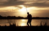 Fishing,Fisherman,Silhouett...