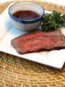 Flank Steak,Barbeque Sauce,...