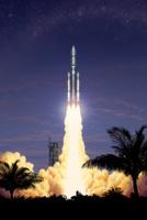 Rocket,Taking Off,Ariane Ro...