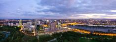 Vienna,Urban Skyline,Panora...