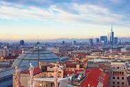 Milan,Urban Skyline,Italy,W...