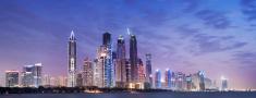 Dubai,Urban Skyline,Panoram...