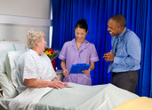 Hospital Ward,Smiling,NHS,N...