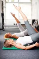 Pilates,Gym,Women,Exercisin...