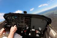 Cockpit,Cessna,Airplane,Pil...