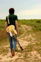 Guitar,Musician,Walking,Tee...