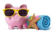 Piggy Bank,Vacations,Saving...