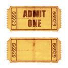 Ticket,Paper,Grunge,Old,Dir...