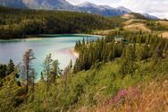 Yukon,Emerald Lake,Mountain...