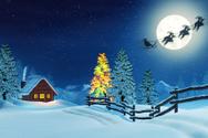 Christmas,Sleigh,Santa Clau...