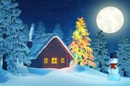 Christmas,House,Polar Clima...