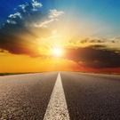 Highway,Road,Sunset,Sunrise...