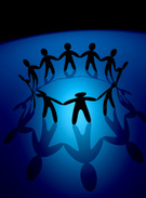 Support,Teamwork,Group of O...