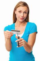Debt,Credit Card,Women,Cutt...