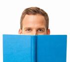 Book,Reading,Men,Human Eye,...