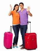Suitcase,Heterosexual Coupl...