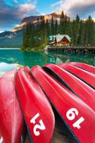 Cabin,Canada,Summer,Landsca...