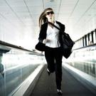 Women,Running,Business,Airp...