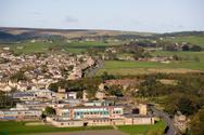 Rural Scene,UK,School Build...