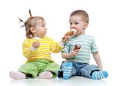 Sharing,Ice Cream,Baby,Food...