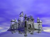 Castle,Fantasy,Ice,Crystal,...