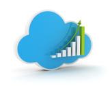 Cloud - Sky,Finance,Graph,C...