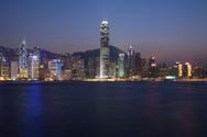 Hong Kong,Urban Skyline,Nig...