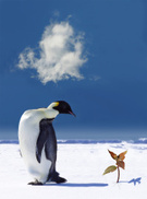 Penguin,Global Warming,Snow...