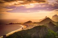 Copacabana Beach,Rio de Jan...
