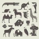 Moose,Symbol,Elephant,Bear,...