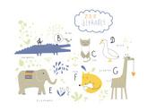 Animal,Alphabet,Fox,Child,E...
