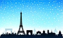 Eiffel Tower,Christmas,Pari...