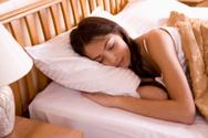 Sleeping,Women,Bed,Pillow,C...