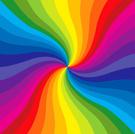 Rainbow,Swirl,Multi Colored...