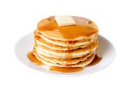 Pancake,Food,Breakfast,Isol...