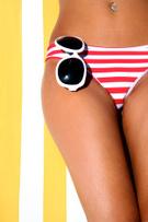 Bikini,Sunbathing,Summer,Wo...