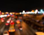 Highway,Night,Illuminated,R...