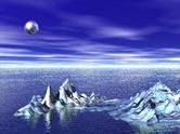 Mountain,Water,Snow,Sky,Sea...