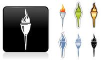 Flaming Torch,Flame,Symbol,...