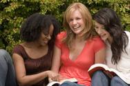 Women,Friendship,Group of O...