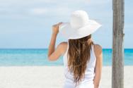 Women,Back,Rear View,Hat,Be...