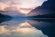 Water,Lake,Mountain,Mist,Fo...