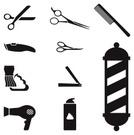 Scissors,Barber's Pole,Hair...