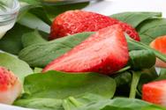 Strawberry,Salad,Spinach,Fr...