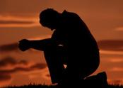Praying,Silhouette,Men,Reli...