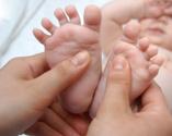 Baby,Massaging,Human Foot,M...