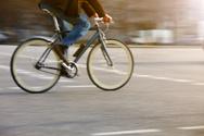 Bicycle,Urban Scene,Road In...