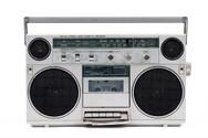 Boom Box,Radio,1980s Style,...