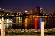 Little Rock,Arkansas,Night,...