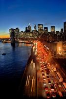 New York City,Traffic,Night...